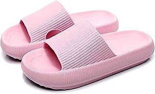 Sharllen Pillow Slides Slippers, Massage Shower Bathroom Slipper, Non-Slip Quick Drying Women Men Sandals,Super Soft Thick...