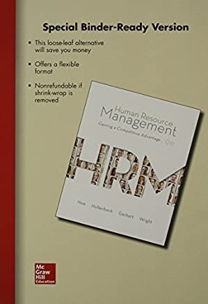 Loose Leaf Human Resource Management with Connect Access Card by Raymond Noe (2013-11-08)