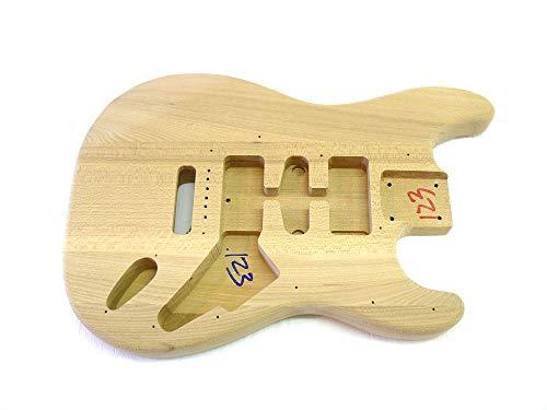 Korpus/Body ML-Factory® Esche für E-Gitarre Type I HSH Fräsung