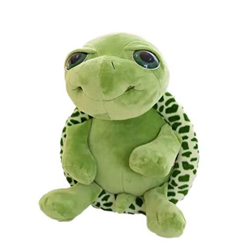YeahiBaby Grüne Schildkröte Plüschtier Stofftier Kawaii Turtle Puppe Kissen Kissen 18cm