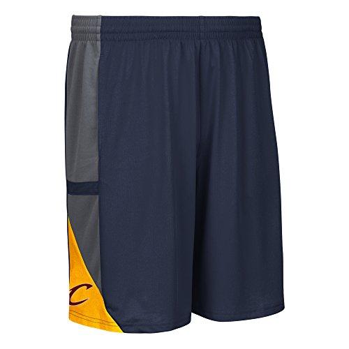 adidas NBA - Pantaloncini a Rete da Uomo, Uomo, 870PA 327 ACCAZ1, Marina Militare, L