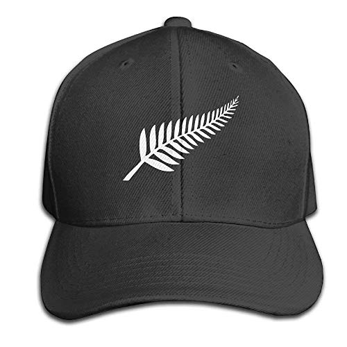 Bang New Zealand Rugby - Gorra de béisbol, color negro