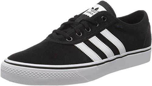 adidas Adi-Ease, Zapatillas de Skateboard Hombre, Negro (Core Black/Footwear White/Core Black 0), 40 2/3 EU ✅