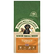 James Wellbeloved Complete Dry Senior Small Breed Dog Food Turkey and Rice, 1.5 kg