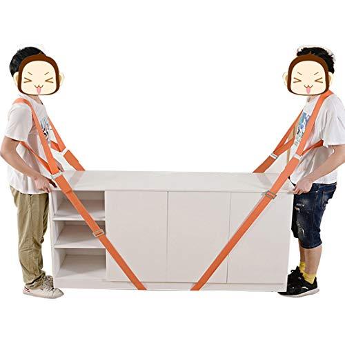 FTDSR Meubeldrager, 2-persoons tillen en verplaatsen van systeem, gemakkelijk te verplaatsen, heffen, dragen, meubels, huishoudelijke apparaten, matrassen, zware voorwerpen zonder rugpijn