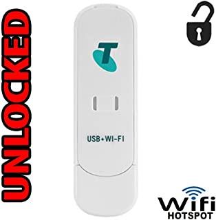 Hotspot Modem 3G (at&T T-Mobile Metro PCS Cricket) Unlocked GSM USB + WiFi ZTE MF70 Router 3G 850/1900 Mhz up to 5 WiFi Users USA Caribbean and Latin Bands