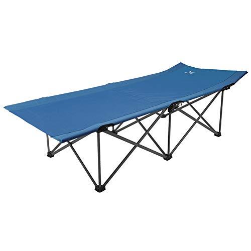 Silla plegable para playa o camping, ligera, acolchada y portátil para picnics, camping, senderismo o festivales, ajuste de dos engranajes + reclinable fiable. moderno Size azul