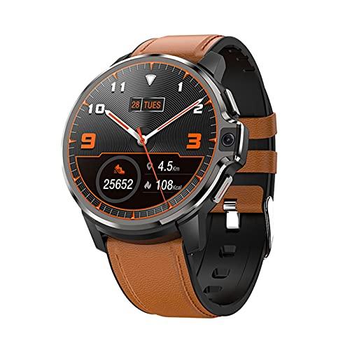 LEMP 1.6 Pulgadas HD Smart Watch Android 4G Dual System 1GB 16GB Smartwatch Men 2021 GPS WiFi Cara ID De Cara 1050Mah Reloj De Batería,A,1+16G