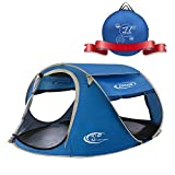 ZOMAKE Pop Up Tent 3 4 Person, Beach Tent Sun...