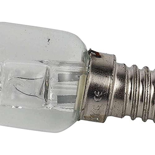 Gmasuber Wivarra E14 - Bombilla halógena para horno (500 grados, 25 W, 250 V, 25 W)