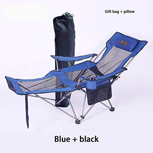 HEIFEN Chaises Longues extérieures, chaises Longues, Tapis de qualité supérieure pour la randonnée, la pêche, la Chasse, Les Festivals, Le Camping, etc.