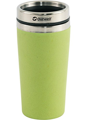 Relags Outwell Mug Isotherme Gobelet 'Bambou', Mixte, 158510, Vert, 0,4 L