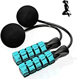 ILIENSA Ropeless Jump Rope, Cordless Jump Rope with Two Balls, Bod Rope, Tangle-Free Rapid Speed Cordless Indoor Jump Rope for Fitness, Suitable for You and Your Kids………