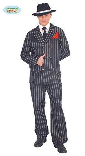 20er Jahre Gangster Anzug für Herren Gr. M/L, Größe:L