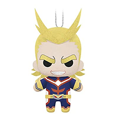 "Little Buddy 1705 My Hero Academia 6"" All Might Plush Dangler, Brown by Little Buddy"