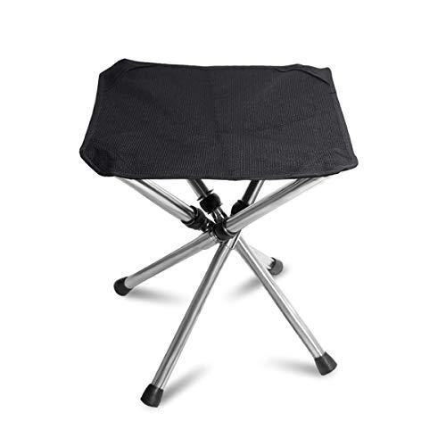TAKU STORE アウトドア チェア 伸縮式 折りたたみ椅子 4脚 超軽量 485g 耐荷重120kg おりたたみいす 釣り 登山 キャンプ 用品 折り畳み コンパクト 収納バッグ付き 持ち運び 便利 ブラック