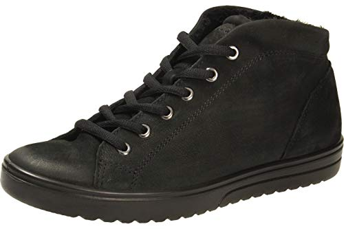 ECCO Damen FARA High-Top, Schwarz (BLACK2001), 42 EU