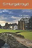 UK Open Championship Golf Bucket List