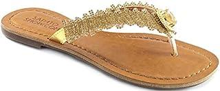 Rasteirinha Pedrarias Numeração Especial Sapato Show 636e
