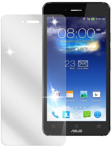 dipos I 2x Schutzfolie klar kompatibel mit Asus Padfone Infinity A86 Smartphone Folie Displayschutzfolie