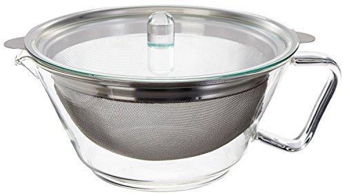 Trendglas Jena Teekanne Globe im empirischen Design, 1.3 L