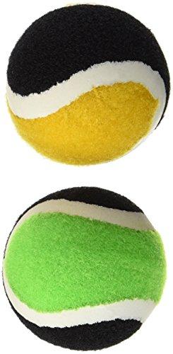 Schildkröt Funsports 2 Ersatz-Klettbälle im Meshbag, rot, orange/Schwarz, One Size