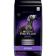 One (1) 48 pound Bag - Purina Pro Plan high protein dry dog Food, Sport performance 30/20 Formula Features real chicken as the number 1 ingredient Contains 30 percent protein and 20 percent fat to help fuel metabolic needs and maintain lean muscle Am...