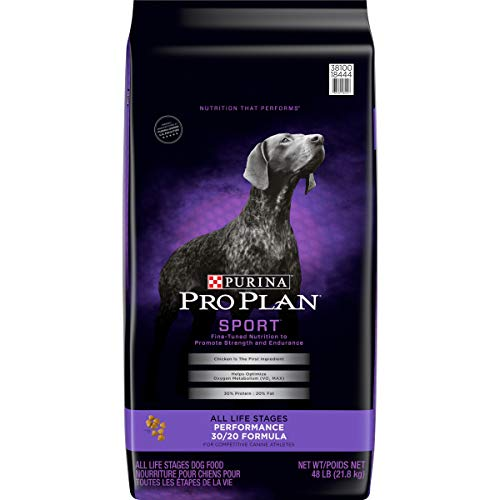Purina Pro Plan High Protein Dry Dog Food, Sport Performance 30/20 Formula - 48 lb. Bag