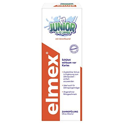 elmex JUNIOR Zahnspülung, 6-12 Jahre, 400 ml