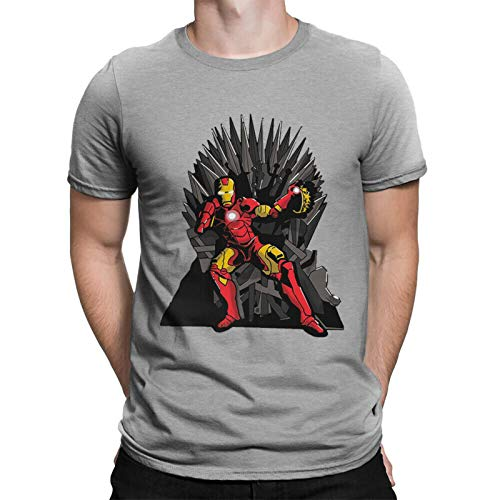 DAYY Tony Stark on The Iron Throne T-Shirt, Got x Avengers Combo Shirt