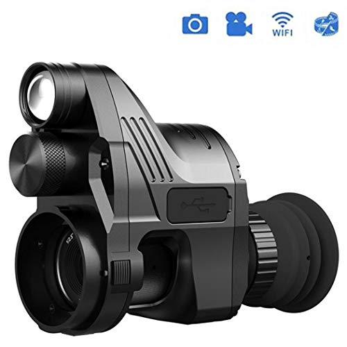 HAO Infrarrojo Caza Visión Nocturna IR Telescopios monoculares Dispositivo de grabación de Video Visión Nocturna Riflescope Desmontaje rápido NV007