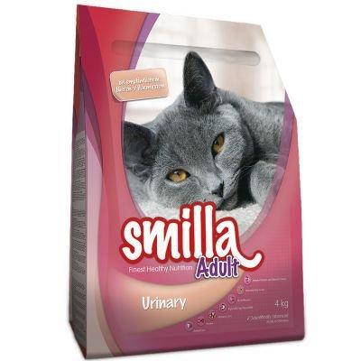 Smilla Finest Healthy Nutrition - Comida completa para gatos secos con vitaminas A y E, urinario para adultos (10 kg)