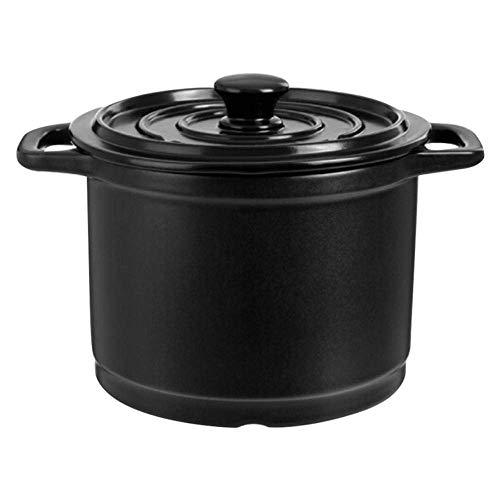 Tontopf zum Kochen Kochen Dutch Oven-Fast Heating Wärmespeicher und Energiesparen 4L