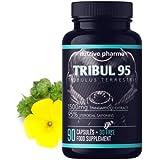 Tribul95® Tribulus Terrestris hochdosiert - 6000mg pro Tagesdosis - 95% Saponine - Natürlicher...