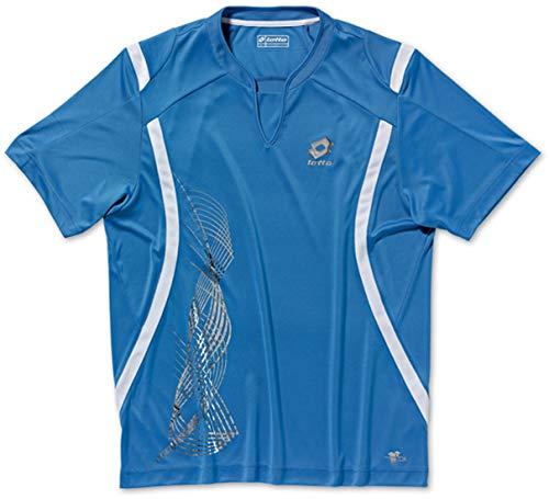 Lotto T-Shirt Kontact Print, Messieurs, ionio Blue/White XL ionio Blue/White