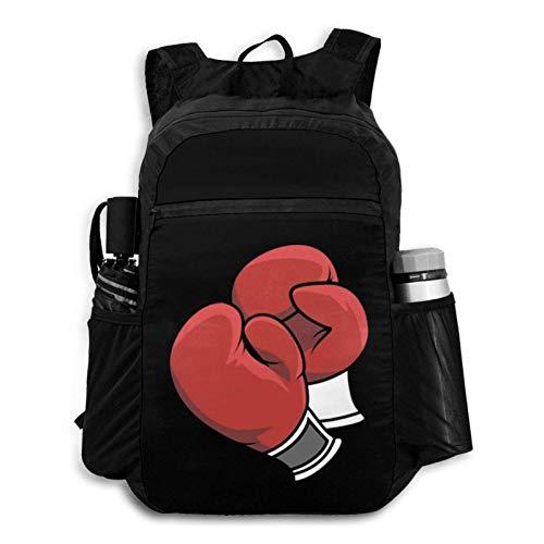 Foldable Backpack Traveling Boxing Gloves Portable Storage Bag Hiking Bag Hiking Leisure Bag