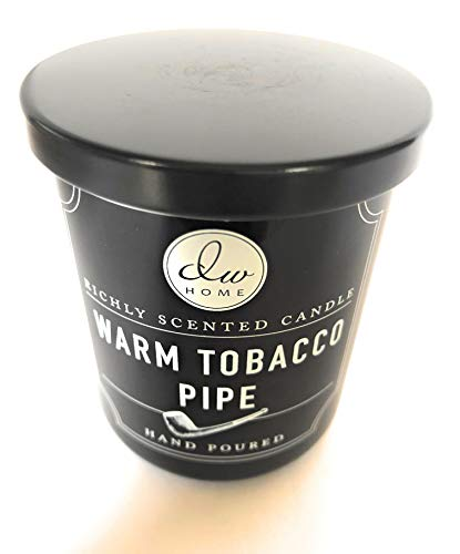 DW Home Warm Pipe Tobacco Candle 3.8 Oz
