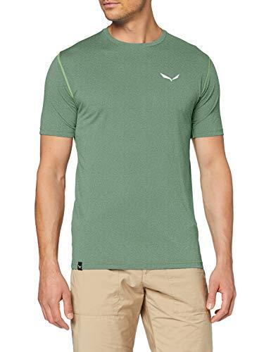 Salewa Herren Hemden und T-Shirts Pedroc Hybrid 3 Dry M S/Tee, Myrtle Melange, 48/M, 00-0000027725
