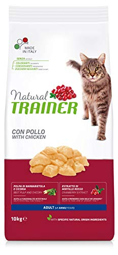 Natural Trainer Cat Adult con Pollo 10 kg - 10000 Gr