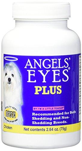 Cães Elimina Mancha de Lágrima Angels Eyes Plus Frango - 75g