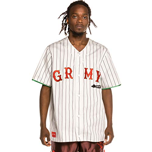 GRIMEY Camiseta de Baseball The Loot - El botín White   Spring 21-XXL