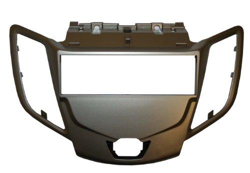 Autoleads FP-07-18/S Radioblende für Ford Fiesta MK7, 1 DIN, Silber