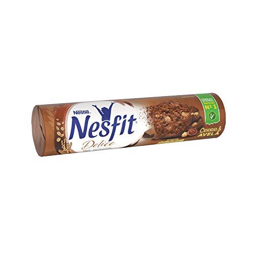 Biscoito, Delice, Cacau e Avelã, Nesfit, 140g