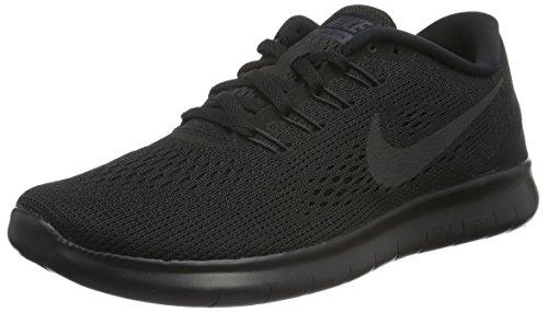 Nike Damen Free Run Laufschuhe, Schwarz (Schwarz/Anthrazit), 36 EU