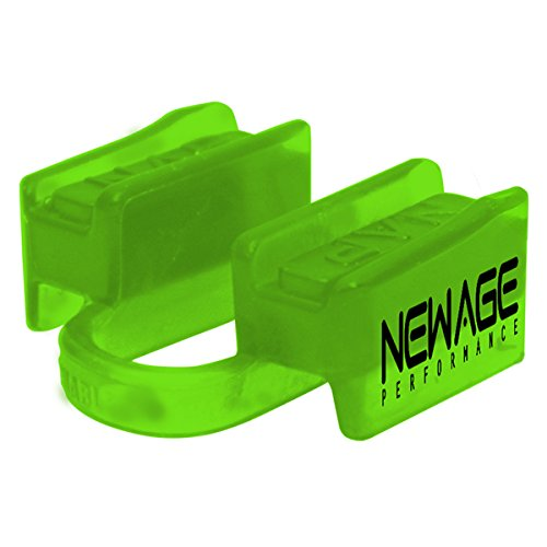 New Age Performance 6DS Sport und Fitness Mundstück–Unterkiefer–no-contact, lindgrün
