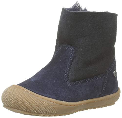 Naturino Unisex Baby New Cotton Stiefel, Blau (Bleu 0c01), 26 EU