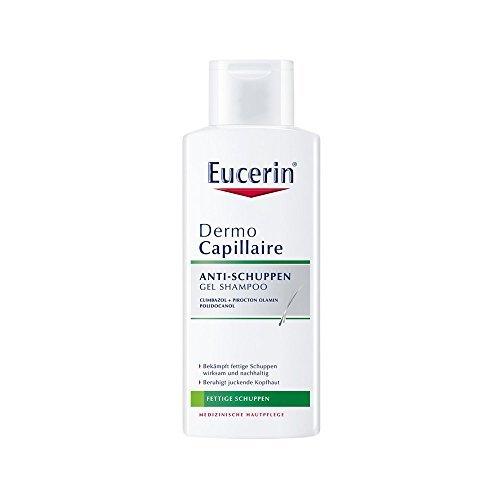 Eucerin DermoCapillaire Anti-Schuppen Gel Shampoo, 250 ml by ( 0639 ) BEIERSDORF