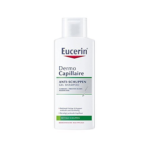 Eucerin DermoCapillaire Anti-Schuppen Gel Shampoo, 250 ml by ( 0639 ) BEIERSDORF