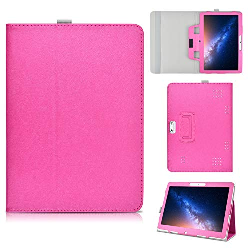 KATUMO Funda Tablet 10.1 Pulgadas Universal Funda Libro para Tableta 10 Lnmbbs, YOTOPT, BEISTA, TECLAST, ALCATEL Tab 10 Cover Case