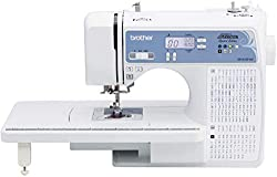 Honorable Mention for Best Computerized Sewing Machine: Brother Computerized Sewing and Quilting Machine with 165 Built-in Stitches